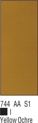 W&N Galeria 60ml 744 Yellow ochre