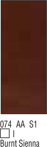 W&N Galeria 500ml 074 Burnt sienna