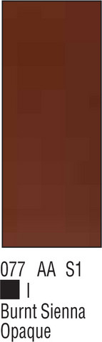 W&N Galeria 500ml 077 Burnt sienna opaque