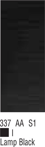 W&N Galeria 500ml 337 Lamp black