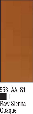 W&N Galeria 500ml 553 Raw sienna opaque