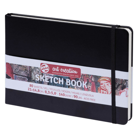 Luonnoslehtiö AC Sketch Book 21x14,8cm 140g 80 sivua