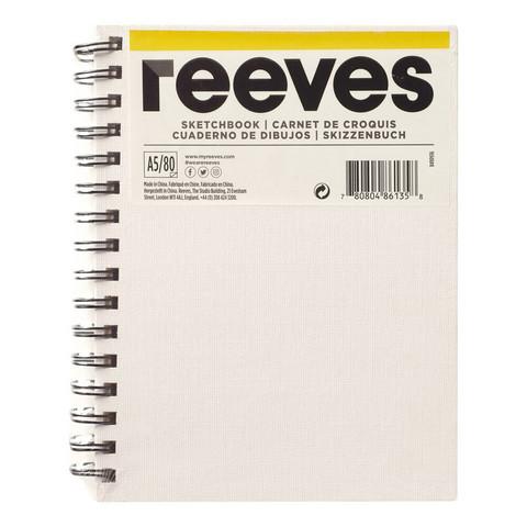 Luonnoslehtiö Reeves A5 maalattavat kannet