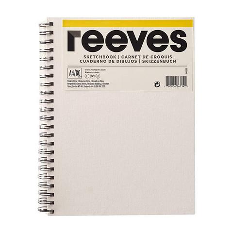Luonnoslehtiö Reeves A4 maalattavat kannet