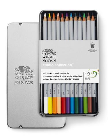 W&N Studio collection puukynät 12 kynää
