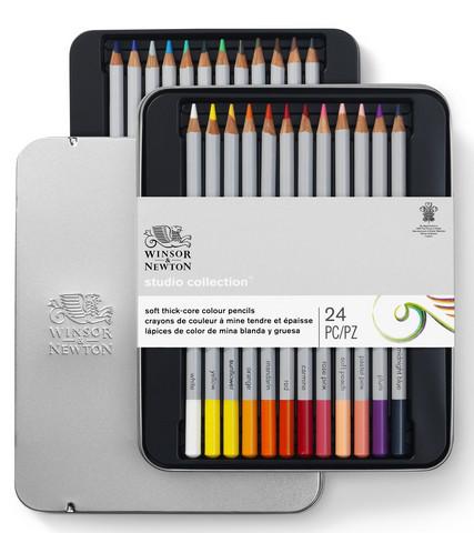 W&N Studio collection puukynät 24 kynää