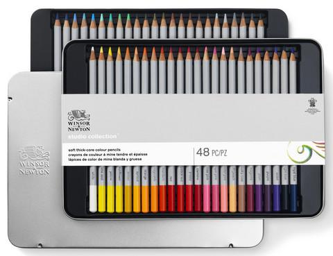 W&N Studio collection puukynät 48 kynää