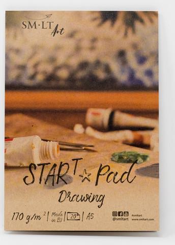 SMLT Start drawing pad A5 170g 20 sivua