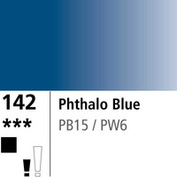 DR Aquafine Gouache 142 15ml Phthalo Blue
