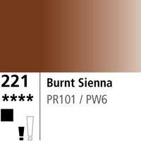 DR Aquafine Gouache 221 15ml Burnt Sienna