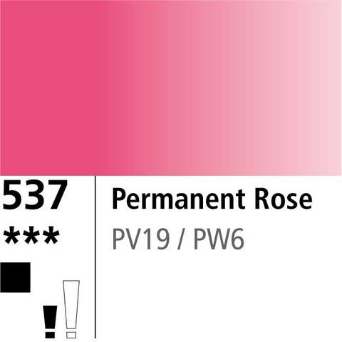 DR Aquafine Gouache 537 15ml Permanent Rose