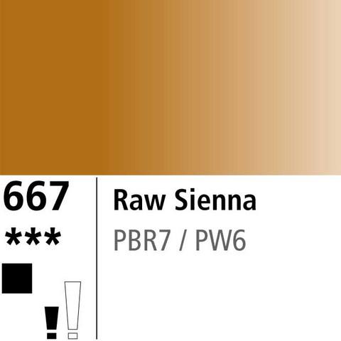 DR Aquafine Gouache 667 15ml Raw Sienna
