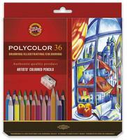 Kohinoor Polycolor puuvärit 36 kynää
