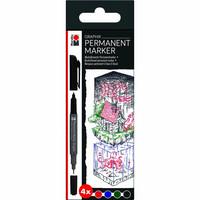 Marabu Graphix permanent 4 Once upon a time