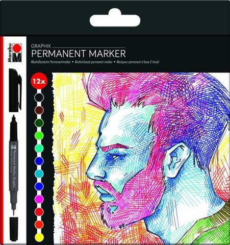 Marabu Graphix permanent 12 Significant