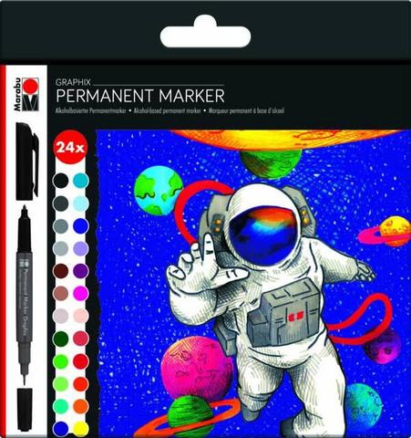 Marabu Graphix permanent 24 Hero of galaxy