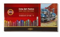 Kohinoor Toison artist extrasoft pastel 48 kuivaliitua