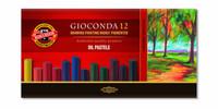 Kohinoor Gioconda artist 12 öljypastelliliitua