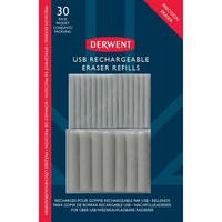 Derwent USB-pyyhekumin vaihtokärjet 30kpl