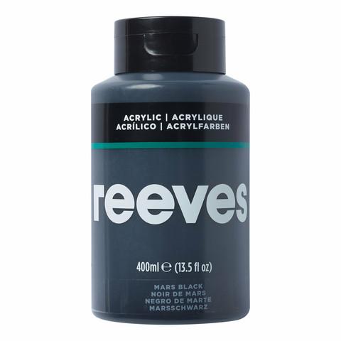 Reeves Artist acrylic 400ml 630 Mars black