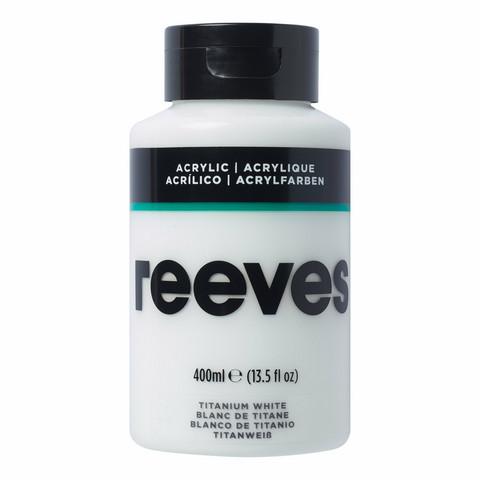 Reeves Artist acrylic 400ml 710 titanium white