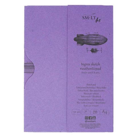 SMLT Ingres sketch A4 lehtiö kotelossa 130g 30 sivua