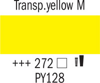Amsterdam 20ml 272 Läpinäkyvä keltainen