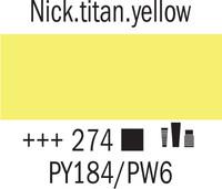 Amsterdam 20ml 274 Nikkeli titaanin keltainen
