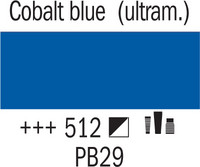 Amsterdam 20ml 512 Koboltin Sininen (ultram.)