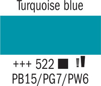 Amsterdam 20ml 522 Turkoosin sininen