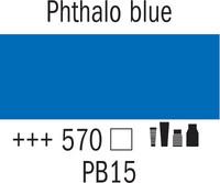 Amsterdam 20ml 570 Phthalo sininen