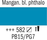 Amsterdam 20ml 582 Mangaanin sininen phthalo