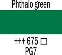 Amsterdam 20ml 675 Phthalo vihreä