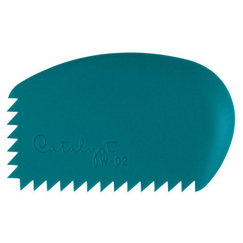 Wedge kuviointikampa W-02 Sininen