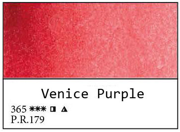 White Nights akvarellinappi 365 Venetian Purple