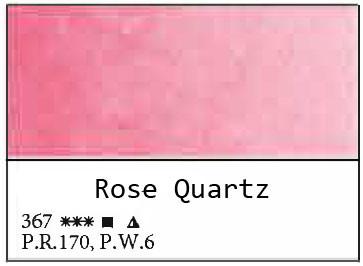 White Nights akvarellinappi 367 Rose Quartz
