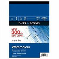 Vesivärilehtiö DR Aquafine A3 puolikarkea 300g 12 sivua