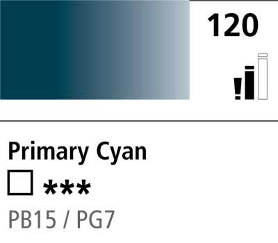 DR Cryla acrylic 75ml 120 Primary cyan