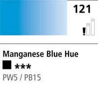 DR Cryla acrylic 75ml 121 Manganese blue (hue)