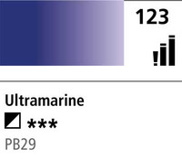 DR Cryla acrylic 75ml 123 Ultramarine