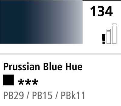 DR Cryla acrylic 75ml 134 Prussian blue (hue)