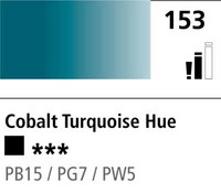 DR Cryla acrylic 75ml 153 Cobalt turquoise (hue)