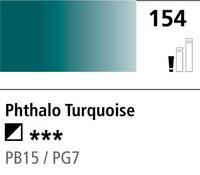 DR Cryla acrylic 75ml 154 Phthalo turquoise