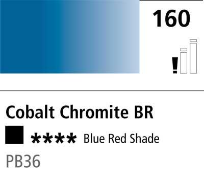 DR Cryla acrylic 75ml 160 Cobalt chromite BRS