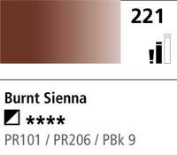 DR Cryla acrylic 75ml 221 Burnt sienna