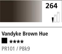 DR Cryla acrylic 75ml 264 Vandyke brown (hue)