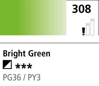 DR Cryla acrylic 75ml 308 Bright green