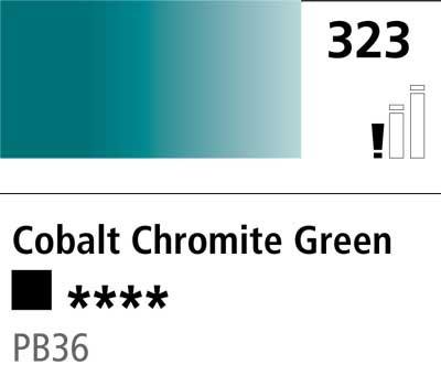 DR Cryla acrylic 75ml 323 Cobalt chromite green