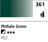 DR Cryla acrylic 75ml 361 Phthalo green