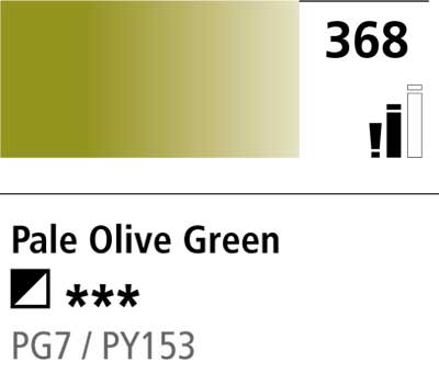 DR Cryla acrylic 75ml 368 Pale olive green
